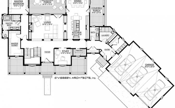 Eplans Low Country House Plan Open Wrap Around