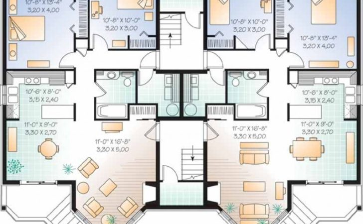 Eplans New American House Plan Elegant Apartment