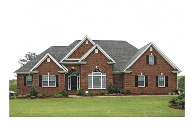Eplans New American House Plan Traditional Brick Ranch