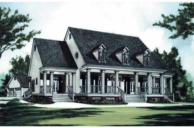 Eplans Plantation House Plan Southern Luxury