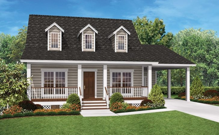 Eplans Ranch House Plan Cozy Two Bedroom