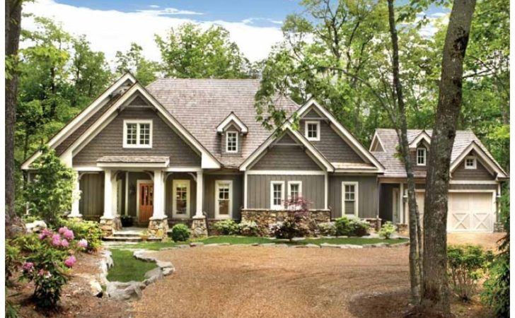 Eplans Ranch House Plan Four Bedroom Mountain Cottage
