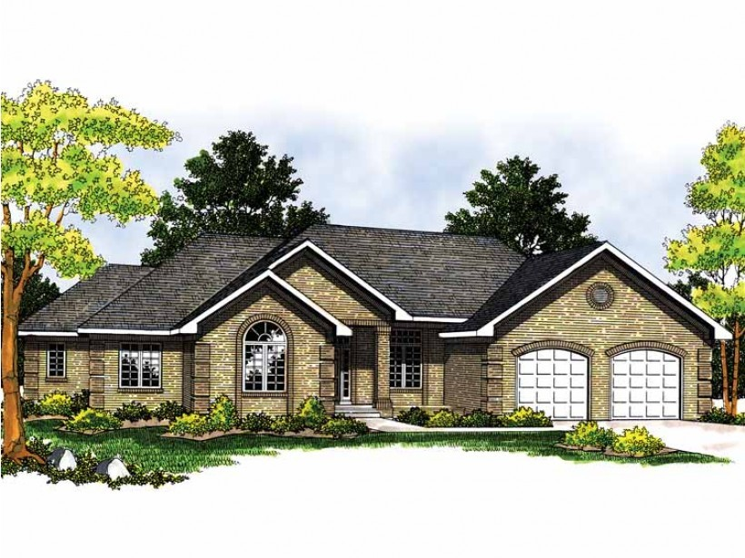 Eplans Ranch House Plan Stunning One Story Square