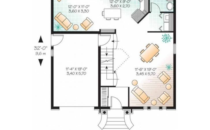 Eplans Second Empire House Plan Prefectly Mated