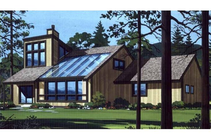 Eplans Shed House Plan Four Bedroom Midwest