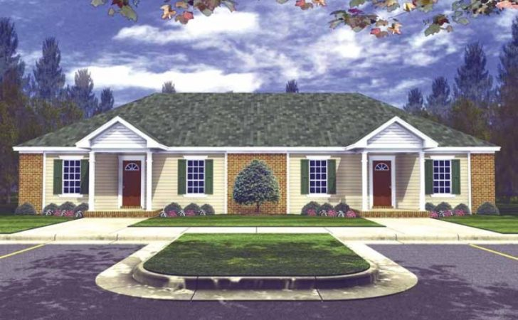 Eplans Split Level House Plan Duplex Great Value