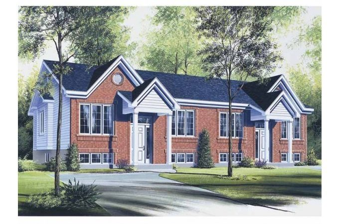 Eplans Split Level House Plan Duplex