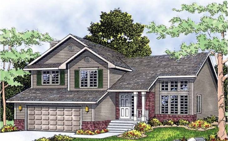 Eplans Split Level House Plan Multi Home