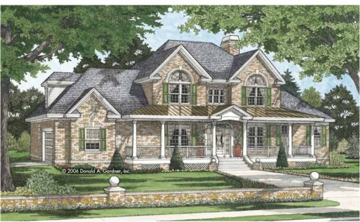 Eplans Traditional House Plan Five Bedroom
