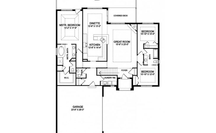 Eplans Traditional House Plan One Story Open