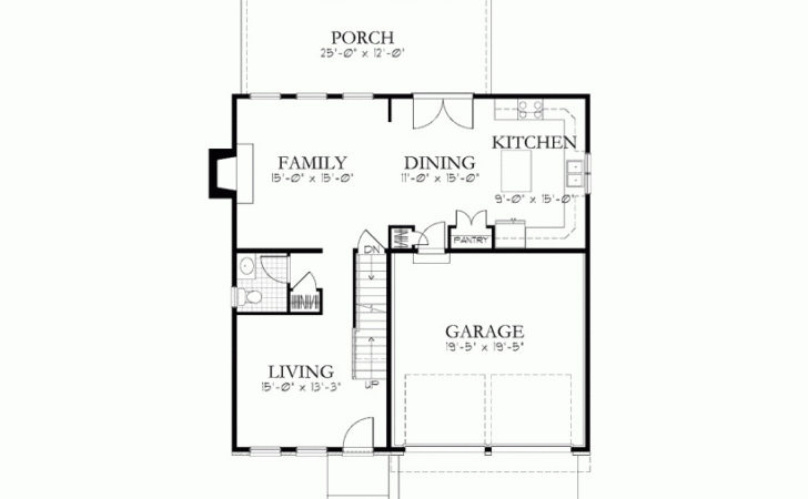 Eplans Traditional House Plan Simple Form Ample Space