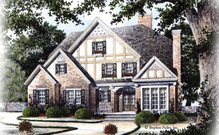Eplans Tudor House Plan Old World Charm Square