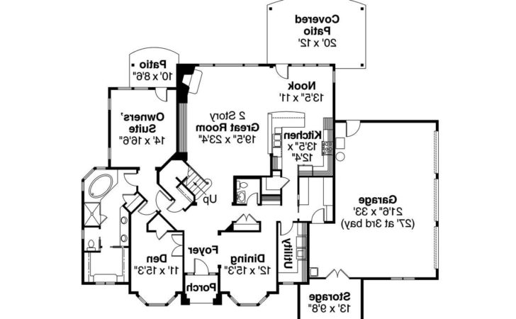 European House Plans Westchase Associated Designs