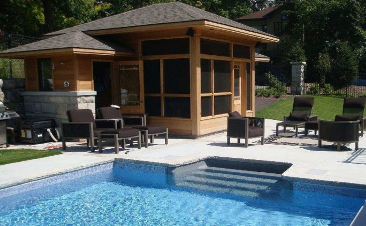 Ever Thought Building Pool House Yes Can