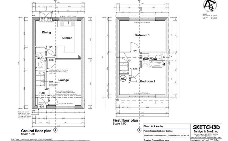 Example Building Plans Developer Bedroom House