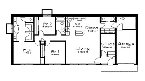 Exceptional Earth Bermed House Plans Berm Homes
