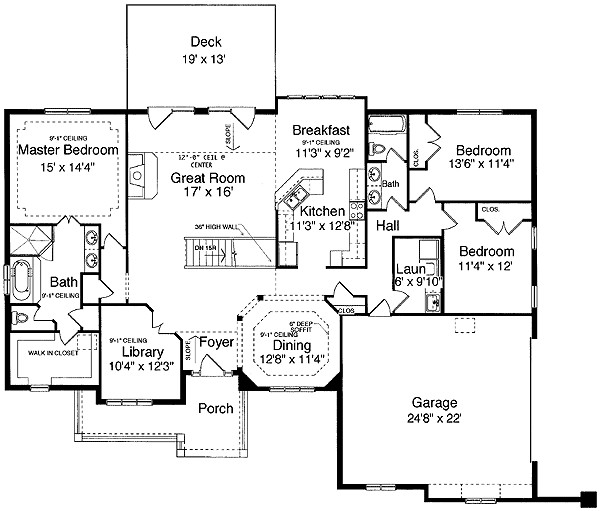 Exceptional Level House Plans One