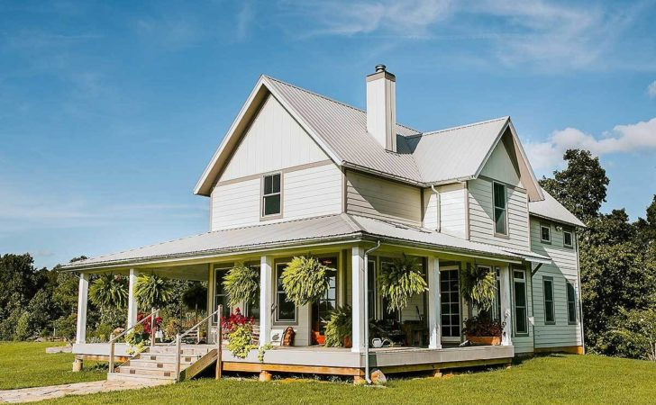 Exclusive Bed Farmhouse Plan Wrap Around Porch