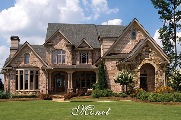 Exterior Country French Home Elevations Joy Studio
