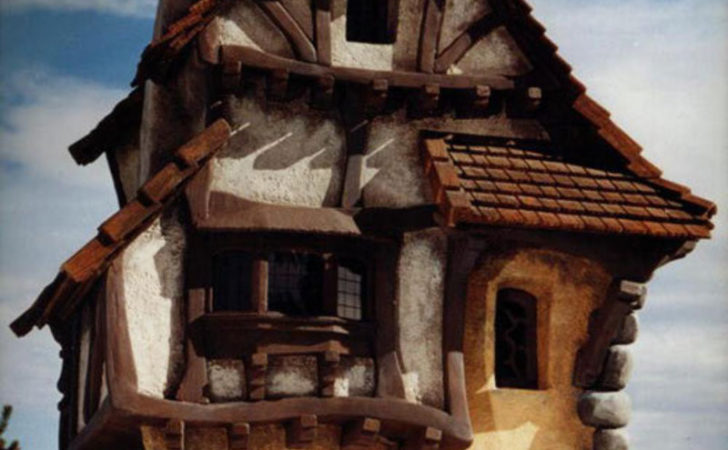 Fairy Tale Houses Real World Design Bookmark