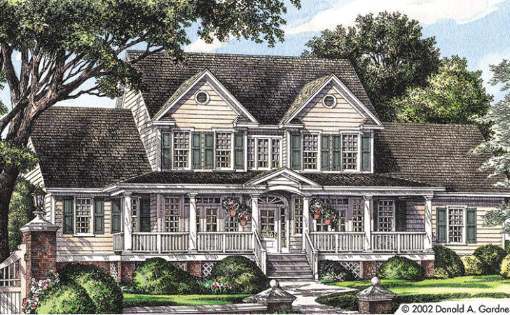 Farmhouse House Plans Designs
