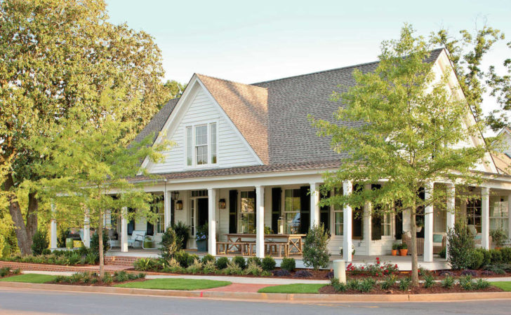 Farmhouse Revival Plan Top House Plans
