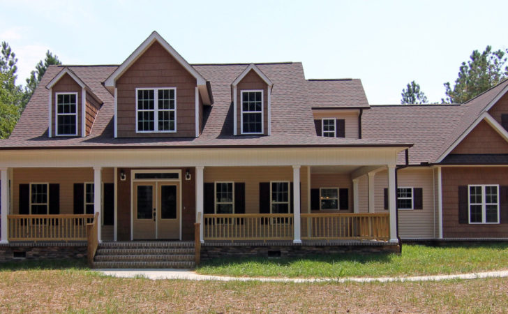 Farmhouse Style Home Raleigh Two Story Custom Plan Cottage