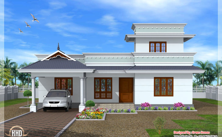 Feet Kerala Model One Floor House Home