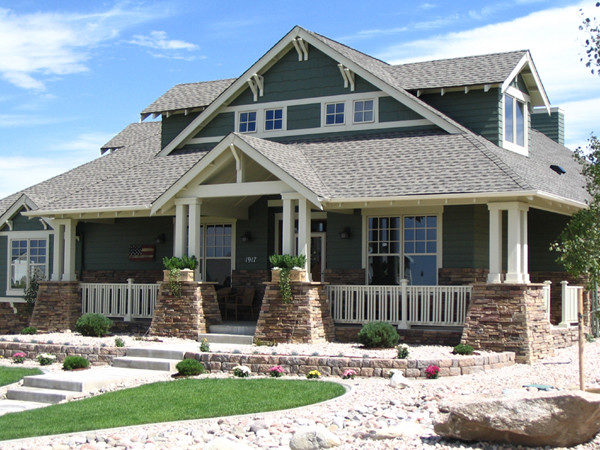 Femme Osage Craftsman Home Plan House Plans