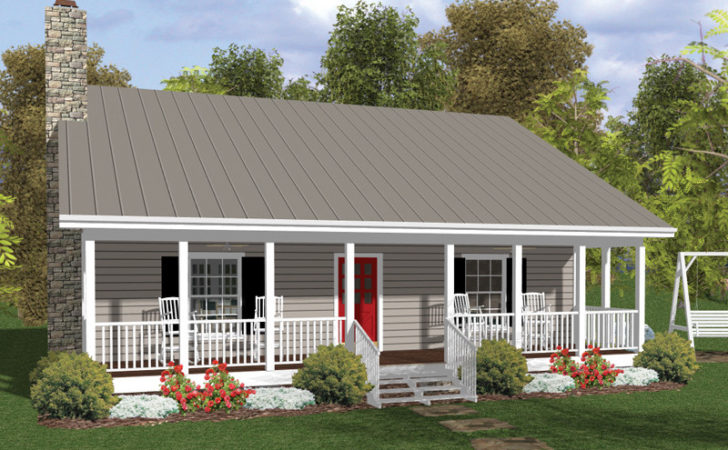 Fernberry Country Cabin Home Plan House Plans