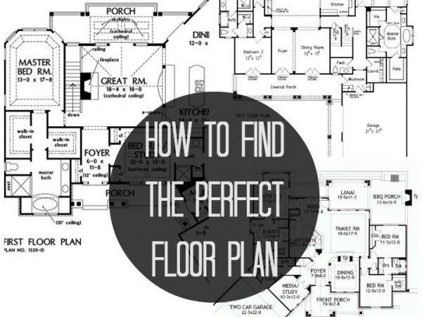 Find Perfect Floor Plan Blissfully Ever