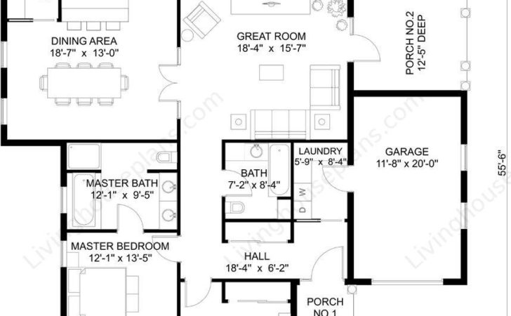Find Your Unqiue Dream House Plans Floor Cabin