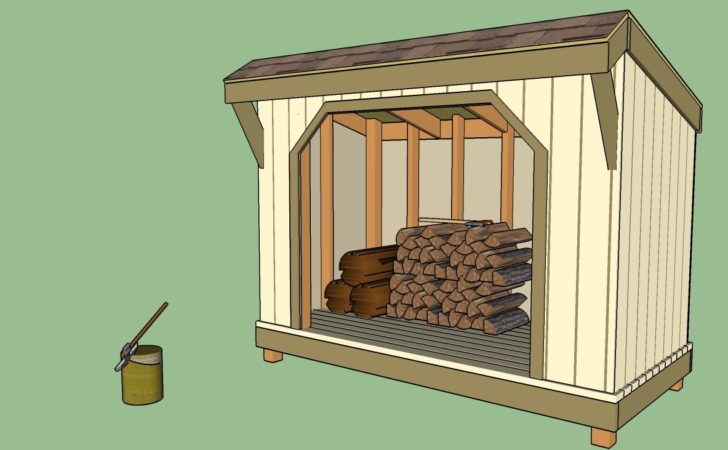 Firewood Shed Plans Storage Your Helpful