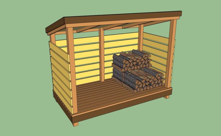Firewood Storage Shed Plans Howtospecialist