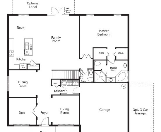 First Floor Master Bedroom House Plans Home Planning