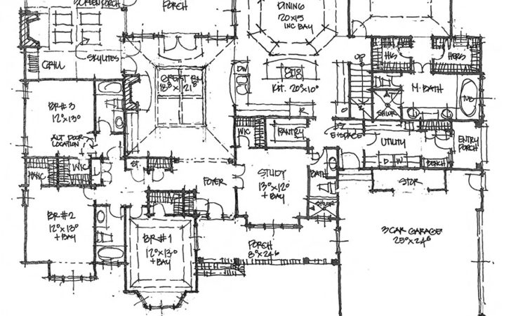 First Floor Master Bedroom House Plans Two Story
