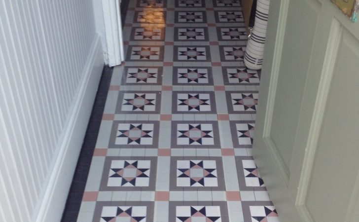 Fitting Victorian Style Sheeted Mosaic Floor Mosaics