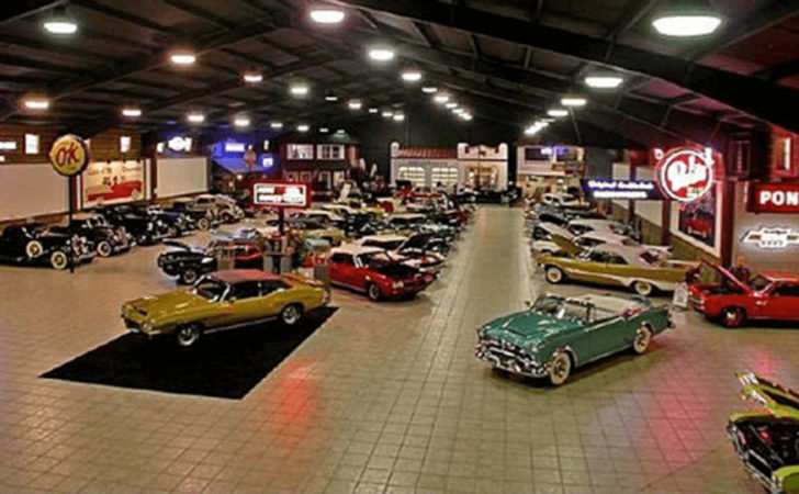 Five Top Collector Car Garages General Steel