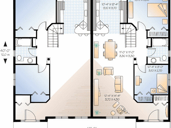 Flexible Two Home Plan Floor Master