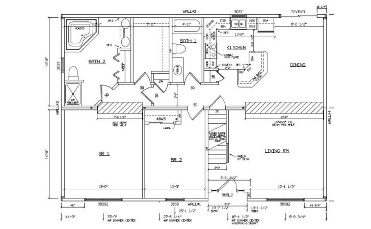 Floor Plan Examples Homes Modern House