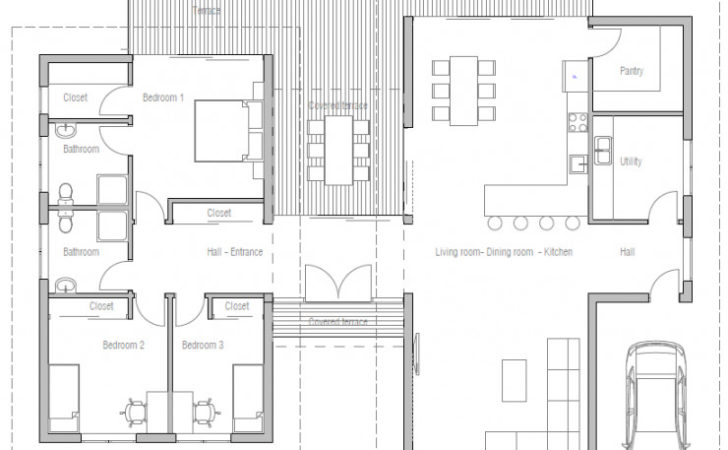 Floor Plan Friday Bedroom Modern House High