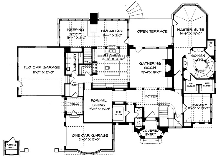 Floor Plans Aflfpw Story Queen Anne Home