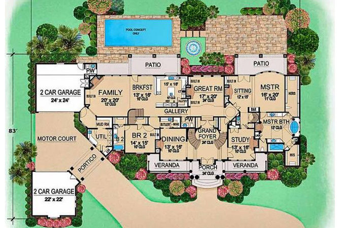 Floor Plans Beautiful Aliza Tions Whole New World