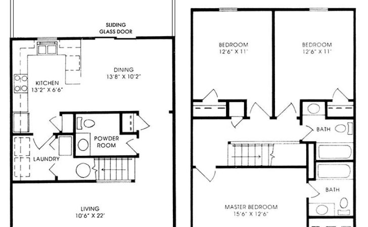 Floor Plans Bedroom House Home Designs