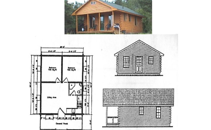 Floor Plans Cedar Log Chalet Units Inclusive