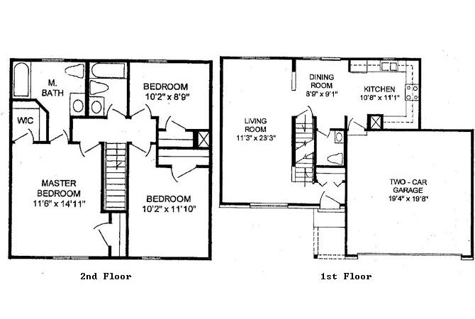 Floor Plans Charleston Pines Apartment Homes