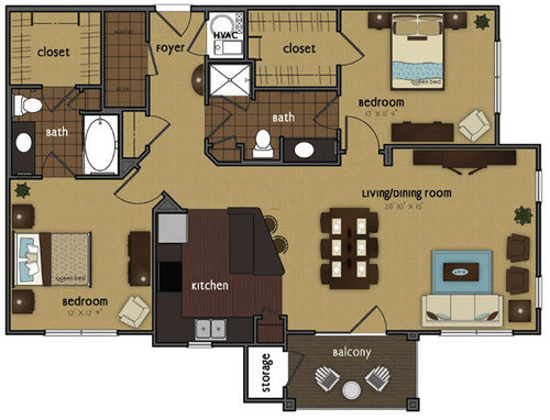 Floor Plans Design Bookmark
