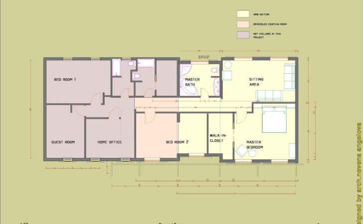 Floor Plans Designed Nevena Angelova Home Addition