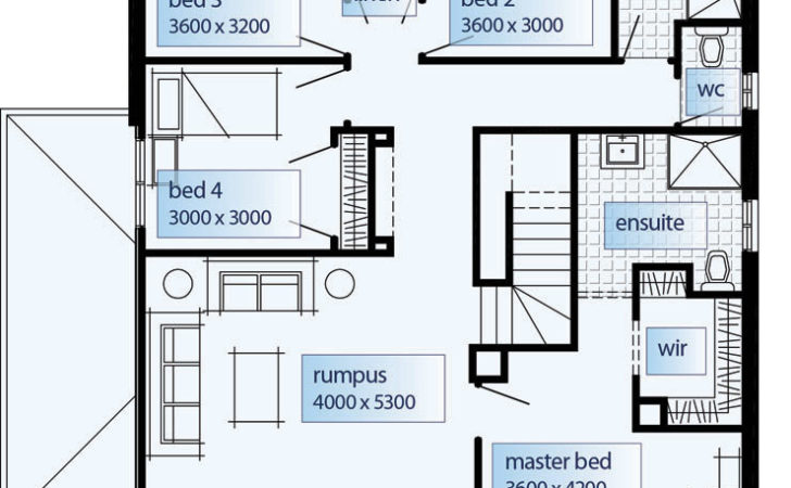 Floor Plans Double Storey House Home Designs
