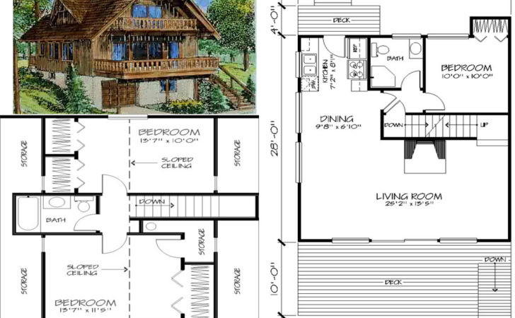 Floor Plans Hillside Chalets Units Inclusive